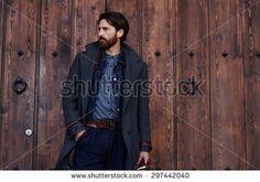 Man Coat Stock Photos, Royalty-Free Images & Vectors - Shutterstock