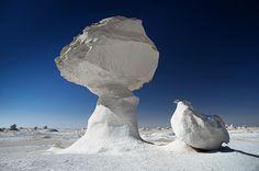 Egypt: White Desert by Olga  Babych, via 500px
