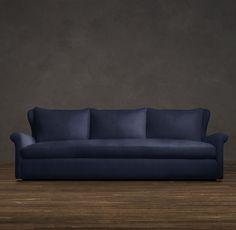 Belgian Wingback Upholstered Sofas   Sofas   Restoration Hardware