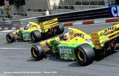 Patrese and Scumacher / B193B Monaco 1993
