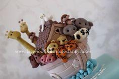 Noahs ark cake - Cake by Zoe's Fancy Cakes