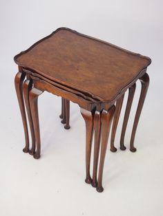Nest of 3 Tables Antiques For Sale, Antique Photos, Antique Furniture, Nest, Tables, Vintage, Home Decor, Old Pictures, Nest Box