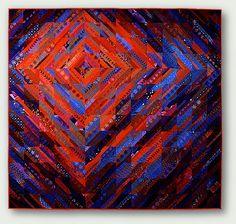 Shadow Quilt | Flickr - Photo Sharing!  Monica McGregor.  This artist's work is wonderful!