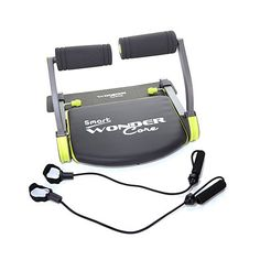 Wonder Core Smart Exercise System w/Workout DVD & Bands -$119, including 16 workouts that target arms, inner thighs, back, butt, chest, legs, and core. Plus, it's portable and requires minimal storage space, because it folds up!