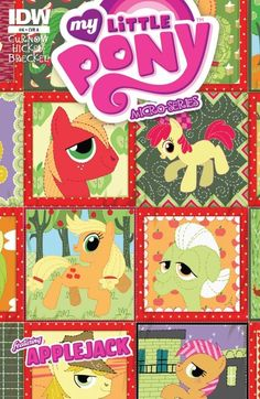 My Little Pony: Micro Series #6 (of 6) AppleJack (Cover A) #IDW #MyLittlePony…