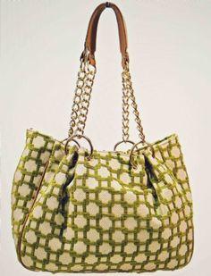 Glenda Gies Millie Handbag In Vintage Green at www.cassiesclosetinc.com