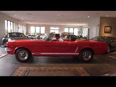 1965 Ford Mustang Convertible walk around & start up from Daniel Schmitt & Co. - YouTube