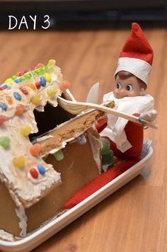 elf on the shelf by Jojoxx