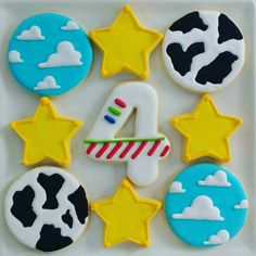 #toystory #party #decoration #cookies
