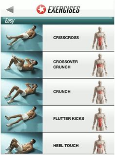 I love ab workouts. When you feel like being lazy, do abs!!