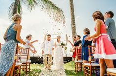 Wedding ceremony in rustic style by Bali Angels