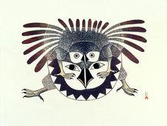 Kenojuak Ashevak Prints Google Search Art Kenojuak