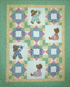 Download Sue and Sam Sewing Pattern | Quilting Downloadable Sewing Patterns | YouCanMakeThis.com