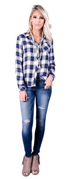 Betsy Button Up Top