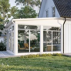 Komplett hagestue Gazebo, Pergola, Garden Room Extensions, Swedish House, Deck Plans, Outdoor Living, Outdoor Decor, Vintage Diy, Sunroom