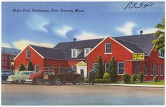 Main Post Exchange, Fort Devens, Mass., via Flickr.