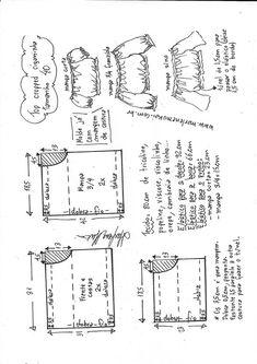 T Shirt Sewing Pattern, Sewing Paterns, Pattern Drafting, Dress Sewing Patterns, Top Pattern, Clothing Patterns, Fashion Illustration Sketches, Fashion Design Sketches, Sewing Clothes
