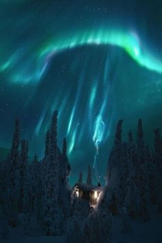 A perfect hideaway over the aurora in Lapland Finland Design Places To Travel, Places To Visit, Travel Destinations, Monuments, Finland Travel, Lapland Finland, Travel Abroad, Aurora Borealis, Night Skies
