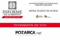 Veracruz II Informe de Gobierno - Javier Duarte De Ochoa - Transmisión en vivo
