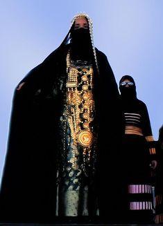 Saudi Arabia    A women dressed in her wedding dress