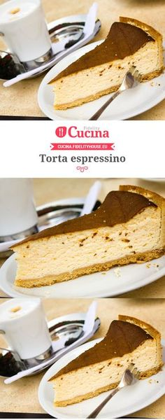Torta espressino Bakery Recipes, Sweets Recipes, Just Desserts, Delicious Desserts, Cooking Recipes, Doce Banana, Buffet, Sweet Bread, Chocolate Recipes