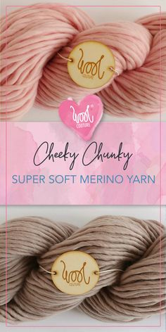 Super soft pure merino yarn Cheeky Chunky from Wool Couture. Which colour will you choose? Knit Basket, Wool Yarn, Etsy Store, Colours, Pure Products, Knitting, Tricot, Breien, Stricken