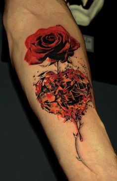 http://tattoomagz.com/simple-flowers-tattoos/red-rose-with-love/