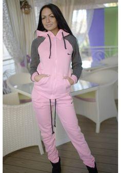 Nike tracksuit warm (pink)