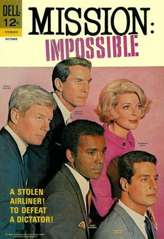 Dell Comics' Mission: Impossible #4 introduces new IMF team leader, Jim Phelps and Roland Hand. Written by Joe Gill with Jack Sparling artwork.
