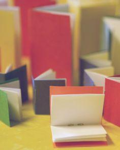 Mini sketch books diy