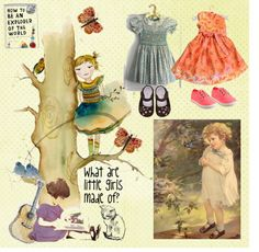 """""""What are Little Girls made of?"""" by gypsymanatee on Polyvore"""