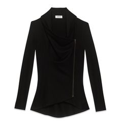 Helmut Lang SONAR WOOL COLLARED CARDIGAN on helmutlang.com  (WANT IT SO MUCH. It actually might be a decent use of $300, though I can't believe I'm saying that-- it's a pretty timeless piece.)