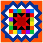 Please Vote For My Block. I submitted a block design to the Accuquilt Barn Quilt Design Contest, and my block was selected as one of the top 100. Now it's up to you to vote for my block so I can win some great Accuquilt goodies.  My block is #29: http://www.accuquilt.com/barnquilt/entry.html