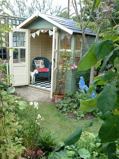garden shed with style