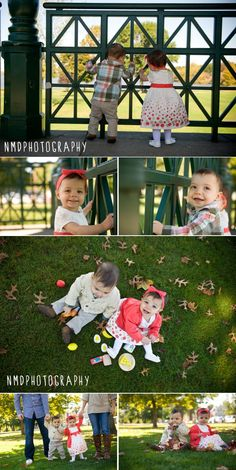 One year old twins photo session. www.nmdphotography.com