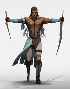 Warrior Slave by S-Kinnaly.deviantart.com on @DeviantArt