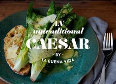 quick and easy meals, nontraditional Caesar salad
