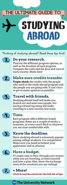 The Ultimate Guide to your Study Abroad Trip!