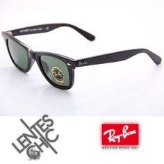 ¡Tu estilo sos vos! Encontrá Ray Ban 2140 Wayfarer Black Green 901 Talle M  Lentes Sol - Anteojos de Sol en Mercado Libre Argentina. d17a3589729