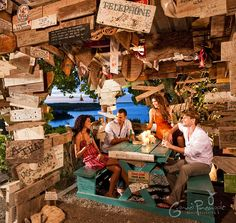Outhouse Hangout in Grand Pineapple Antigua www.vowtotravel.com Book a well deserved getaway today!