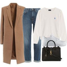 Untitled #4086 by ericacavaco12 on Polyvore featuring polyvore, fashion, style, Polo Ralph Lauren, M.i.h Jeans, NIKE, Yves Saint Laurent and clothing