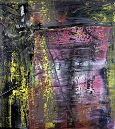Abstract Painting Violet [600-1] » Art » Gerhard Richter