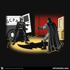 Batpoint T-Shirt - Batman T-Shirt is $14 today at Ript! Day Of The Shirt, Batman T Shirt, Amai, Dark Knight, Dc Comics, Pop Culture, This Is Us, Darth Vader, Film