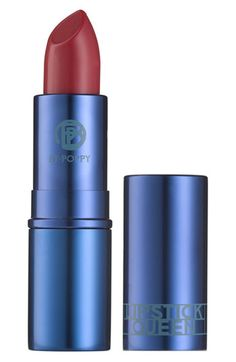 Over the last 20 years of designing lipsticks and glosses, Poppy King was often asked by customers what the perfect shade to wear with jeans was. So she decided to create it. Jean Queen is a lovingly and specially created pink that simultaneously offsets the blue in denim while illuminating your whole face. One stroke and you and your jeans go from drab to fabulous.