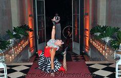 #Contorsion #Circo #Años20 en #palaciosanssouci #wedding cocktail #contenidosartisticos producido por www.anaromans.com #creativeevents