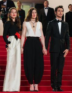 L'équipe du film Marguerite & Julien: Anais Demoustier, Valérie Donzelli et Jérémie Elkaim   Cannes Film Festival Day 7