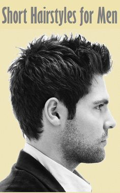 Top 20 Short Hairstyles for Men..