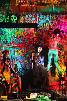 Bergdorf Goodman presents: Punk Influence: past, present, future.