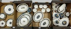 Top 25 Highest Selling Lots - Collectors & General Auction – Lot 269 – A very good collection of Royal Doulton Carlyle dinnerware to include tea and coffee pots, covered and open veg bowls, dinner plates, side plates, servers, cups, saucers etc (47).  Sale Price £420.00