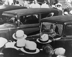 """June 17, 1933  Controversy still surrounds the Kansas City Massacre that left 5 men dead. The FBI identified """"Pretty Boy"""" Floyd and Adam Richetti as the gunmen with Verne Miller but other suggested names include Harvey Bailey, the Denning brothers, Wilbur Underhill, Bob Brady, and Jack Griffin. Even the motives are disputed. Many say Miller was trying to rescue convicted killer and robber Frank Nash. Others say the event, which resulted in Nash's death, was a gangland hit"""